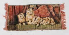 Vintage Cat Carpet Rug Condition:  Used  Vintage Cat Carpet Rug  size: 1040 L x 460 W  R700  Cell 076 706 4700  Tel 021 - 558 7546  www.furnicape.co.za  0406