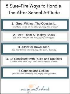 5 Sure-Fire Ways To Stop The After School Attitude Positive Parenting Solutions, Kids And Parenting, Parenting Hacks, Safety Rules For Kids, Time Kids, Positive Discipline, After School, Talking To You, Need To Know