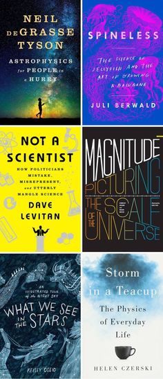 Books for the would-be scientist.