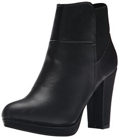 Call It Spring Women's Woolsey Boot, Black Synthetic, 8 B US ** Continue to the product at the image link.