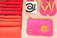 Grab a zuma zipper pouch/clutch at our store in Echo Park! #pouch #pacifictotecompany #zuma #malibu #echopark #silverlake #madeincalifornia