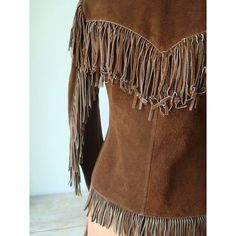 Vintage Womens Suede Jacket with Fringe  by JustSmashingDarling, $135.00