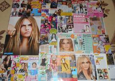 CARA DELEVINGNE Suicide Squad - Magazine Poster Clippings Collection
