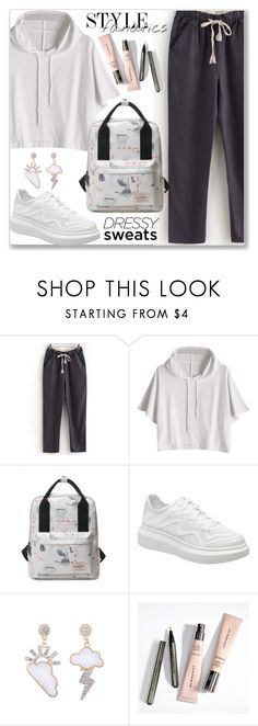 """Comfort is Key: Sweatpants (Sporty Style)"" by jecakns ❤ liked on Polyvore"