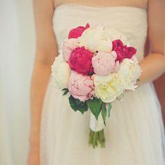 Peony Wedding Bouquets - Martha Stewart Weddings Flowers