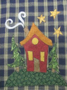 Home Sweet Home Applique PDF Pattern for Tea by quiltdoodledesigns, $3.00