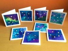 Vánoční přáníčka s hvězdičkami Kids Christmas, Christmas Crafts, Xmas Cards, Winter, Art For Kids, Back To School, Projects To Try, Scrapbook, Frame
