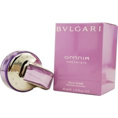 Launched by the design house of Bvlgari in 2007, BVLGARI OMNIA AMETHYSTE by Bvlgari for Women posesses a blend of: Grapefruit, Green Sap, Bulgarian Rose, Iris, Heliotrope, Solar Woods It is recommended for casual wear.