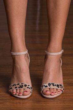 """""""Wild Ways Heel, Leopard"""""""