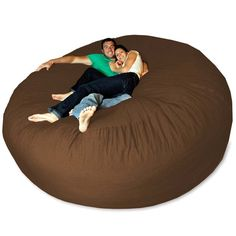 Micro Suede Giant Bean Bag Chair . I want this for movie nights!!! I must have one of these