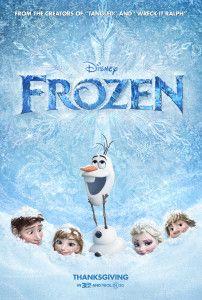 Frozen Movie Poster picture on www.TheDisneyKids.com  #DisneyMovie #DisneyFilm #Frozen