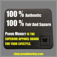 Guys, 100 % authentic Proud Morbey original clothes. 100 % fair and square trading. All products are made in Germany. Cool and honest products since 2008.