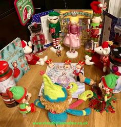The elves enjoyed a performance of The Nutcracker and brought Nutcracker themed treats for our cinemas visit. The Elf, Elf On The Shelf, Woodland Elf, Father Christmas, Magical Creatures, Family Traditions, Easter Bunny, Elves, Treats