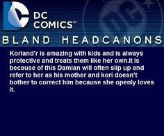 Bland DC Headcanons @omg992 on Tumblr