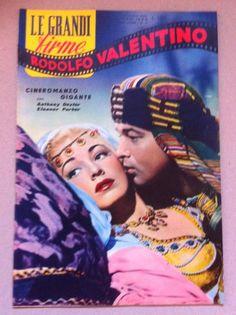 Cineromanzo RODOLFO VALENTINO 1955 Anthony Dexter Eleanor Parker-L5045