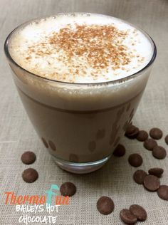 A thermomix baileys hot chocolate yes please! I am looking forward to ensuring that this recipe stays well tested. Are you looking forward to cuddling up t Hot Chocolate Recipes, Delicious Chocolate, Delicious Desserts, Best Cooker, Baileys Recipes, Cocktails, Drinks, Decadent Food, Baileys Irish Cream