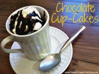 Chocolate Cup-Cakes - Microwave cakes in mugs from SimpleOrganizedLiving.com