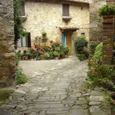 """Tactic for finding off-the-beaten-path lodging on your next trip to Europe. Use a mapping application like Google Maps to find lodging by location. Navigate to the area in which you would like to stay, choose """"Search nearby"""", type """"hotel"""" into the search field (or agriturismo, bed and breakfast, inn, and hostel).  The search results show location, hotel name and even user reviews, as well as links to the lodging Web site when available."""