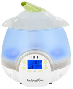 Babymoov Digital Humidifier A right and balanced humidity level is really essential for your baby. The Babymoov digital humidifier not only helps you in maintaining the room humidity but it also helps you in monitoring the right humidity level and temperature thanks to the built in hygrometer and thermometer.