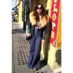 Spotted (SF Street Style): 70s Chic via Polyvore