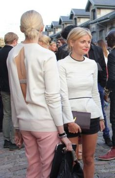 Street style,  Copenhagen fashion week