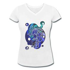 Techno & wave - Fühle die Energie, die dich durchfließt und erlebe dich jeden Tag neu. Ausgefallenes Design in blauen Tönen.  #Maennermode #Frauenmode #hipp #Design #Techno #Wave #house #Skaterkleidung #Trendsetter #Modedesign #Planeten #Youngster #Wasser #dreidimensional #Unterwaesche #Kosmos #Weltall #Wave #modisch #Modetipp #Buckelwal