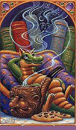Миф.Ру, живопись фэнтези, Randal Spangler, драконы и дракончики