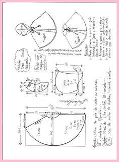 Sewing Baby Gift Poncho pelerine com gorro ou gola - DIY- marlene mukai - molde infantil Knitting For Kids, Sewing For Kids, Knitting Projects, Sewing Projects, Toddler Sewing Patterns, Kids Patterns, Doll Clothes Patterns, Sewing Baby Clothes, Baby Sewing