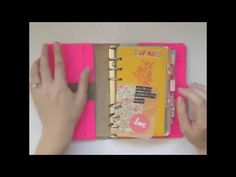 ▶ How I Set Up My Filofax - YouTube Beautiful!