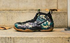 separation shoes 93a97 edfee Nike Air Foamposite Pro Army Camo Forest Black 587547 300 DS Size 11 US    eBay