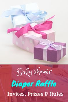 Invites, Prizes & Rules for a Diaper Raffle - Trimester Talk Diaper Raffle Poem, Shower Invitations, Invite, Raffle Prizes, Birth Doula, Second Pregnancy, Pack Of Diapers, Third Trimester, Everything Baby