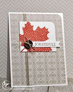 Simply done by Joyful Creations with Kim. CAS(E) this Sketch! {Grateful}