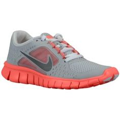 Nike Free Run 3 - Big Kids - Running - Shoes - Spark/White/Volt/Reflect Silver $77.99