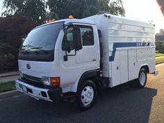 2002 Nissan UD Enclosed Utility Service Fuel & Lube #Nissan #Trucks #Dealership