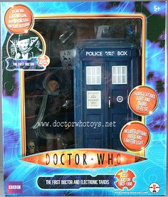 The First Doctor And Electronic Tardis