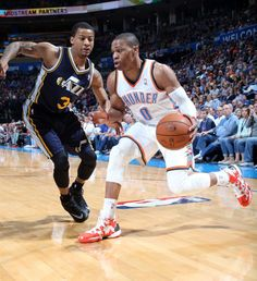 Photo Gallery: Thunder vs. Jazz - March 30, 2014   THE OFFICIAL SITE OF THE OKLAHOMA CITY THUNDER