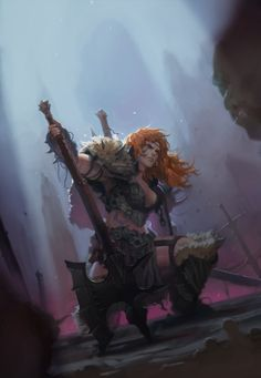 Barbarian by aobtd88 on deviantART #barbarian