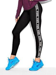 PINK Victorias Secret yoga leggings xmas set outfit up 2 snow good tee sz sm new