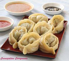 Nepali Chicken Momo (Dumplings) and Three Mouth-Watering Momo Dips