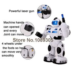 NEW Electric Robot Toys Battery Operated Toy Musical Moving Robot Doll Toys Gifts for kid boys Free shipping-in Action & Toy Figures from Toys & Hobbies on Aliexpress.com | Alibaba Group