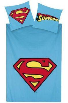 Dc Comics Superman Batman Strip Double Full Bed Quilt