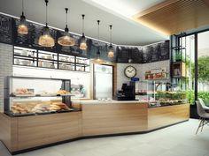 концепт кафе в супермаркете - Галерея 3ddd.ru