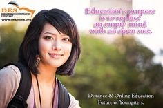 """""""Education's purpose is to replace an empty mind with an open mind.""""   Online Education Future of Youngsters  #Education #OnlineEducation"""