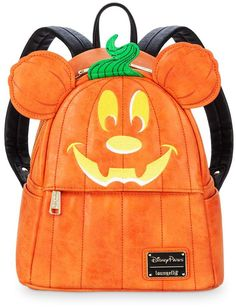 ON SALE NOW! Disney Mickey Mouse Pumpkin Mini Backpack by Loungefly