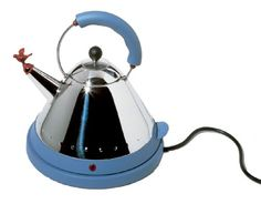 Alessi MG32AZUSA Michael Graves Electric Kettle Blue * You can find more details by visiting the image link. (This is an affiliate link) #SmallAppliances