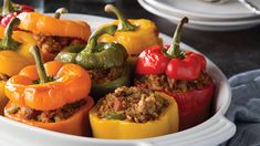 Jambalaya-Stuffed Bell Peppers