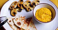 Répahummusz grillgombával | Nosalty Hummus, Ethnic Recipes, Food, Cilantro, Essen, Meals, Yemek, Eten