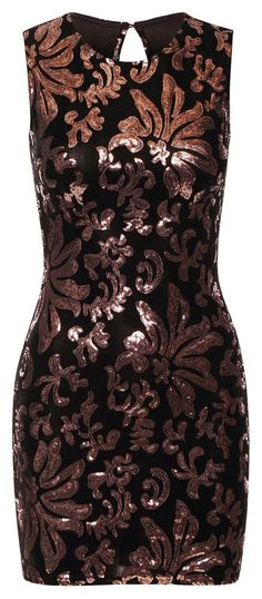 PARTY ROSE GOLD SAMT PAILLETTEN COCKTAIL SILVESTER ABENDKLEID DAMEN M L 38 40