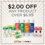 New $2 Yes To Product Printable Coupon!