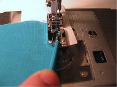 How to Use a Rolled Hem Presser Foot
